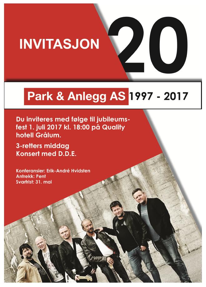 Park & Anlegg 20 år