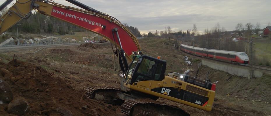 Park & Anlegg er i gang med ny storkontrakt på Follobanen